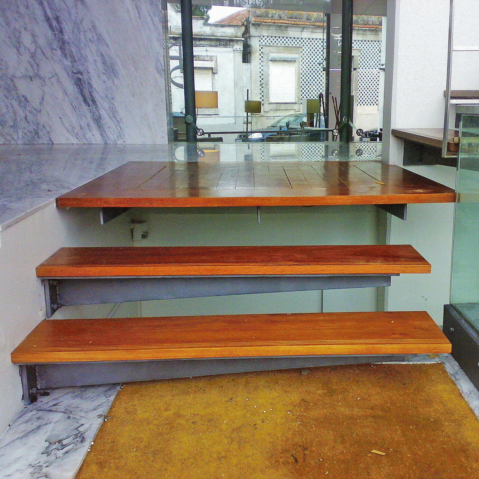 VIMAPA - Escadas com suporte lateral